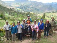 PERU farmers in Paru Paru Parque de la Papa (Potato Park) by Milagros Salazar, IPS