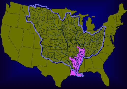 Mississippi River drainage basin | Food Freedom