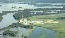 Cooper nuclear generation station in 1993 floods