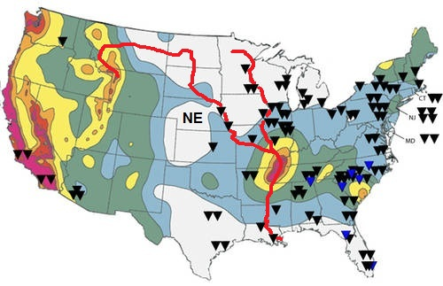 Earthquake Causing Fracking to Be Allowed within 500 FEET of Nuclear Plants